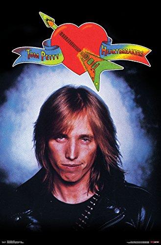 Trends International Tom Petty - Smoke Wall Poster, 22.375