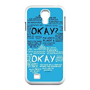 hHXYHTY Customized Okay Pattern Protective Case Cover Skin for Samsung Galaxy S4 I9500