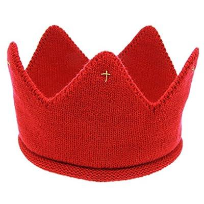 Adorable Infant Baby Boys Girls Knit Crown Hat Crochet Cap Photo Photography Prop