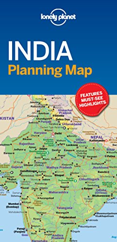 (Lonely Planet India Planning Map)
