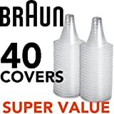40 Replacement Lens Filter Probe Covers Caps Braun Thermoscan Thermometers Lf40 High Quality Best Seller Fast Shipping Ship Worldwide From Heng Heng Shop