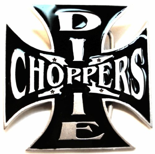 DIXIE CHOPPERS MOTORCYCLE BIKERS BELT BUCKLE - MADE IN USA