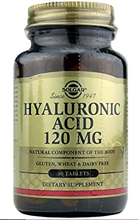 Solgar Collagen Hyaluronic Acid Complex Mg Tabletas
