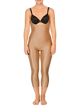 spanx suit your fancy open bust catsuit at amazon women s clothing