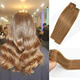 100% remy human hair extensions, can be curled, straightened & washed;No Shedding,No Tangles,No Smell,Silky Soft.Hair Details Hair material: 7A Grade 100% Real Human Hair,15-22Inch,5 Size and 22 Color Available,70g,7pcs/set with 16 clips ...