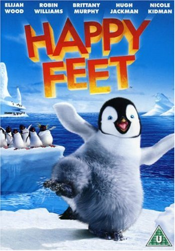 Image result for happy feet dvd cover