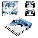 Vanknight PS4 Pro Playstation 4 PRO Console Skin Set Vinyl Decal Sticker 2 Controllers (PRO only)