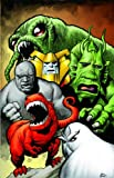img - for Marvel Monsters book / textbook / text book