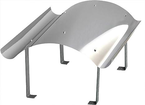 Fürs Dach Schornsteinabdeckung Kaminabdeckung Kaminhaube Regenhaube 600 X600 Mm Edelstahl