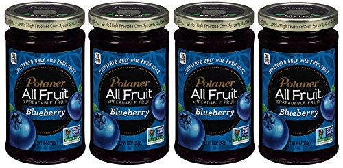 Polaner All Fruit Blueberry Spreadable Fruit, 10 oz (Pack of 4) Gluten free by Polaner (Image #5)'