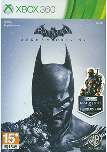Batman Arkham Origins - Xbox 360 - Region Free (Xbox Batman 360 Games)