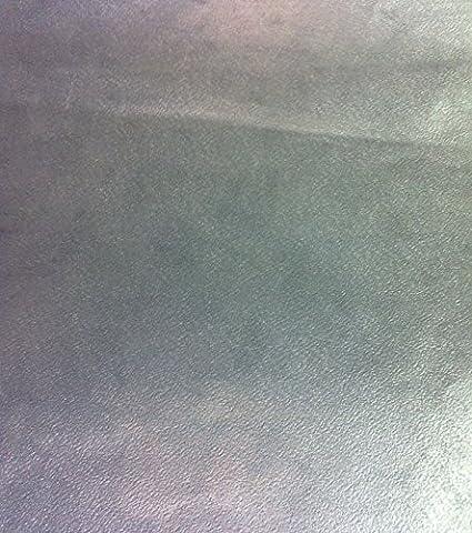 Metallic Silver Wallpaper Plain Modern Shiny Washable Paste The