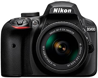 Nikon D3400 - Kit de cámara réflex (con AFP DX 18-55 mm no VR, 55 ...