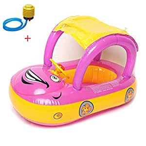 Amazon Com Inflatable Baby Float Seat Boat Beach Car Sun