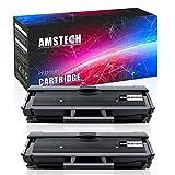 Amstech 2Packs 111S Toner Compatible Samsung 111S MLT111S MLT-D111S MLT D111S Toner Cartridge Samsung M2070FW M2020W M2070W M2070F M2070 Samsung Xpress M2070FW, Xpress M2020W Printer Toner Ink
