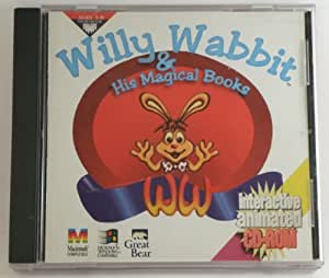 WILLY WABBIT & HIS MAGICAL BOOKS Interactive animated CD-ROM