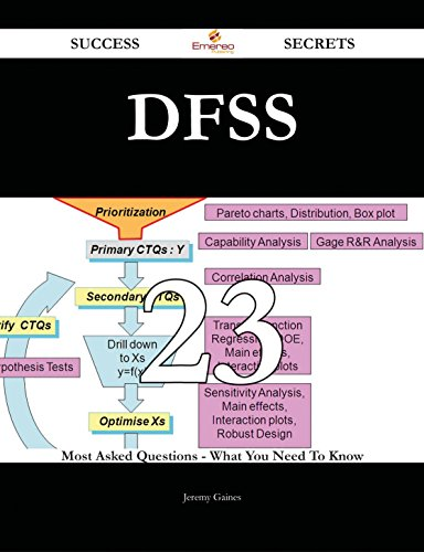 DFSS 23 Success Secrets - 23 Most Asked Questions On DFSS - What You Need To Know thumbnail