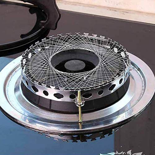 Professional Gas Cooker Stove Torch Net Stainless Steel Windproof Energy Saving Circle, Butane Cookers - Flame Stoves, King Burner, Cooker Hob, Burner Hose, Butane Stove Fuel, Butane Stove Fuel by Bechtle