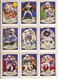 Indianapolis Colts 1990 Fleer Football Team Set w/ Update Cards (Jeff George Rookie) (Andre Rison)