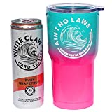 Ain't No Laws White Claw Vacuum Insulated Stainless Steel Travel Tumbler