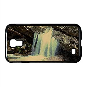 Rock Waterfall Watercolor style Cover Iphone 5/5S (Waterfalls Watercolor style Iphone 5/5S