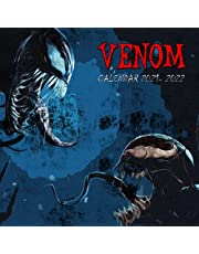 Venom Calendar 2022: Monthly Wall Calendar from September 2021 to December 2022, Daily Weekly & Monthly Yearly Agenda Calendar, Special Gifts For Venom Fans