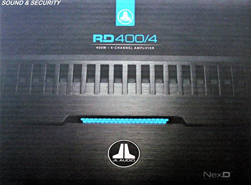 JL Audio RD400/4 NexD 4 Channel Class D Car Audio Amplifier (Jl Audio 4channel Amp)