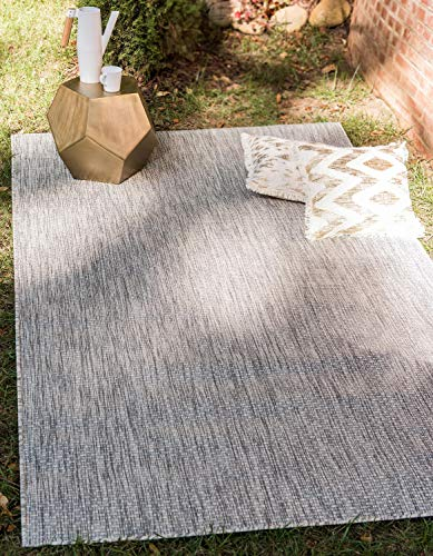 Light Gray Outdoor Rug in US - 4