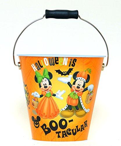 - Disney Mickey Mouse & Friends Metal Halloween Trick Or Treat Bucket Pail