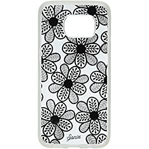 Sonix Cell Phone Case for Samsung Galaxy S7 - Retail Packaging - Boho Floral Black