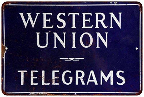 western-union-telegrams-vintage-look-reproduction-metal-sign-8-x-12-8120334