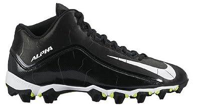 promo code 6e708 82d1a ... White 719952-100  Nike Mens Alpha Shark 2 Three-Quarter Wide  BlackAnthraciteWhite Football Cleat ...