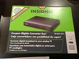 Insignia Digital to Analog Converter Box NS-DXA1-APT