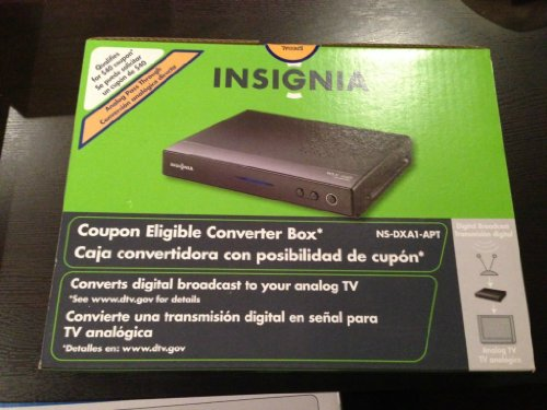 Insignia Digital to Analog Converter Box NS-DXA1-APT