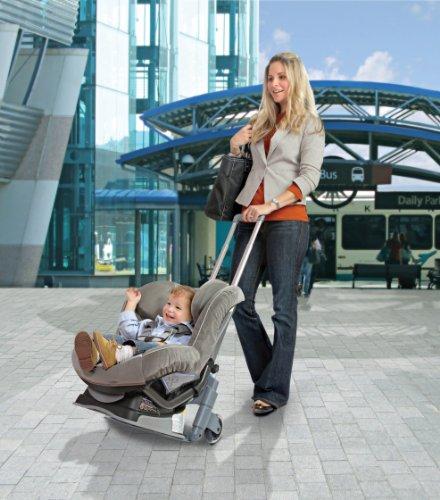 Amazon Brica Roll N Go Car Seat Transporter Travel Trays Baby