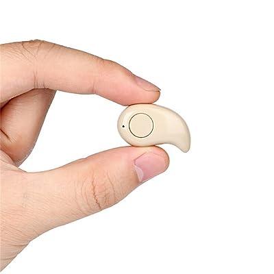 Auriculares con Bluetooth invisible para manos libres para iPhone, Samsung, Xiaomi, Sony, Lenovo, HTC, LG, etc., de Naisicatar