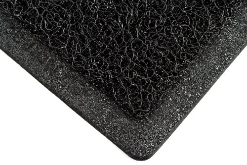 3M Nomad  Medium Traffic Backed Scraper Matting 6050, Black, 4' x (3m 6050 Nomad Scraper Mat)