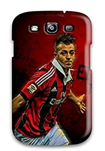 Ideal For SamSung Galaxy S3 Case Cover (ac Milan Stephan El Shaarawy), Protective Stylish