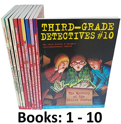 Third Grade Detectives Series. Complete Set . Books 1-10