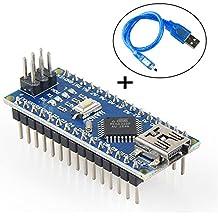 Mini Nano V3.0 ATmega328P Microcontroller Board w/USB Cable For Arduino