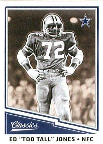 2017 Panini Classics #171 Ed Too Tall Jones Dallas Cowboys Football Card ()