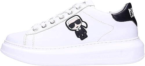 Amazon Com Karl Lagerfeld Kapri Womens Sneakers White Fashion Sneakers