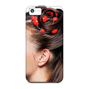 Faddish Phone Lovely Hair Style Case For Iphone 5c / Perfect Case Cover