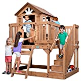 Backyard Discovery 1605336 Scenic Heights All Cedar Playhouse