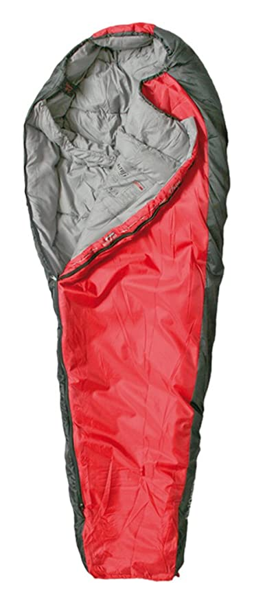 Altus Pirineos 300G - Saco Unisex, Color Rojo/Gris, Talla única
