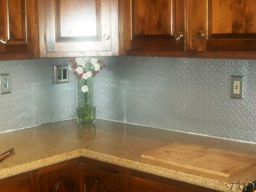Faux Tin Wc 40 Patina Copper Decorative Kitchen Backsplash