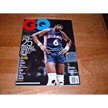 GQ Magazine, February 2011-Julius Erving-A Special Issue. The 25 Coolest Athletes of All Time.