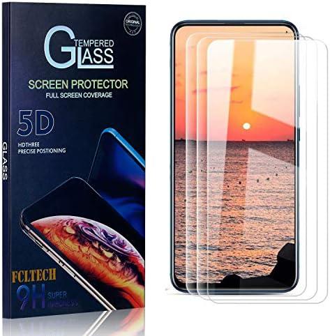 FCLTech Schutzfolie für Huawei P Smart Z/Huawei Y9 Prime 2019, 3 Stücke Klar HD Displayschutzfolie Folie Kompatibel mit P Smart Z / Y9 Prime 2019