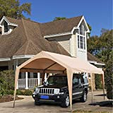 Abba Patio 10 x 20 ft Outdoor Carport Car Canopy