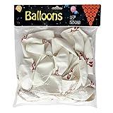Stephen Kings It Clown Face Balloons,12 Inch Horror Mask Balloons(25 Pcs)